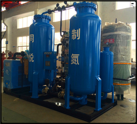 Çin 300 Nm3/H Purity 99.9% High Pressure Industrial Nitrogen Generation Unit Gas Purging In Oil / Gas Industry Field Fabrika